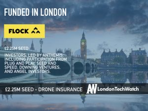 Flock Cover Raises £2.25M to Provide Intelligently Priced Insurance To Drone Pilots