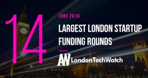 These are the 14 London Startups That Raised the Most Capital in June of 2018